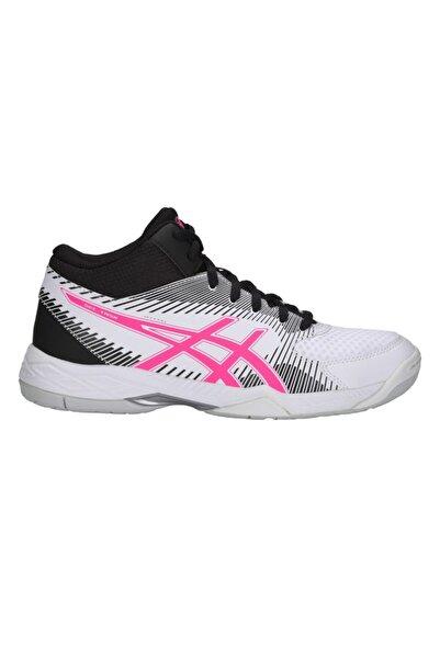 Asics Kadın Beyaz Pembe Voleybol Ayakkabısı