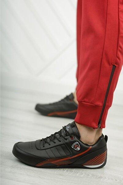 Muya Erkek Siyah Spor Ayakkabı Casual Snekaer 50620
