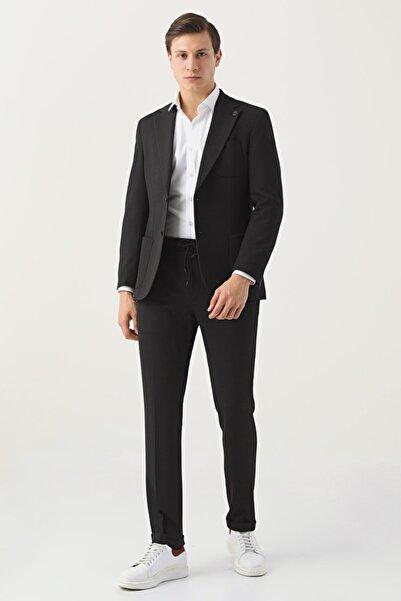 Damat Damat Slim Fit Siyah Takım Elbise