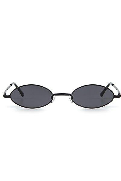 Aqua Di Polo 1987 Kadın Siyah Minimal Güneş Gözlüğü Apss067362