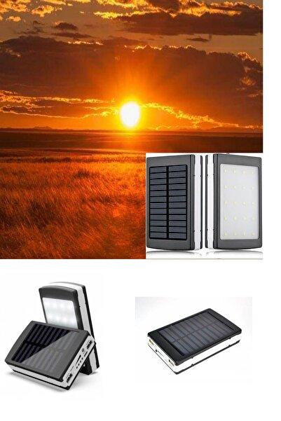 esmelen Güneş Enerjili Kendi Kendini Şarj Edebilen Solar 10000mah Powerbank Güneş Enerjili Powerbank