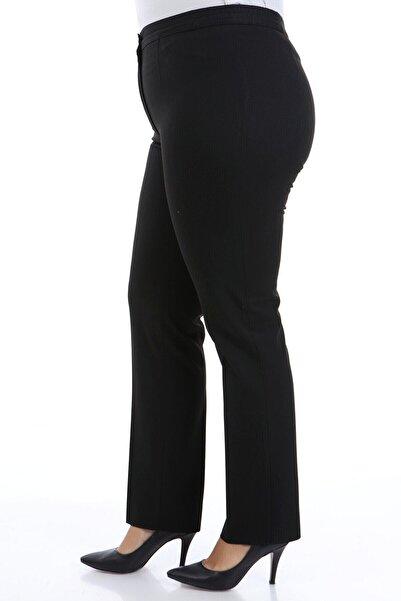 Buket Büyük Beden Kumaş Pantolon
