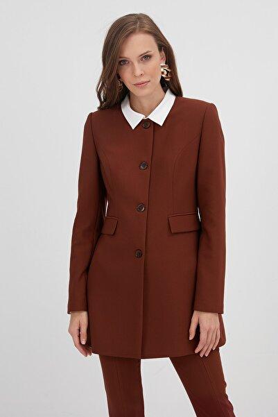 Chima Sıfır Yaka Ceket