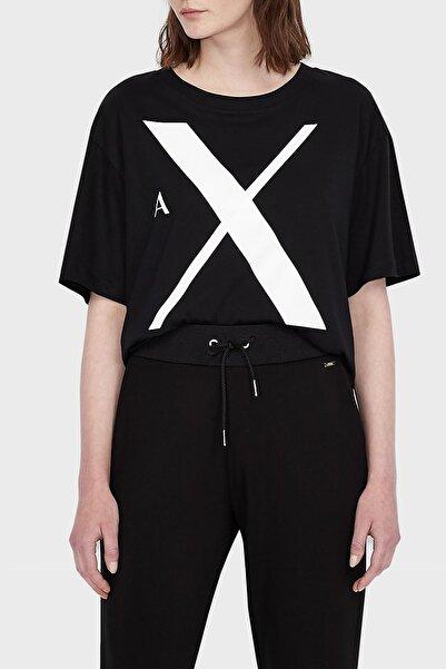 Armani Exchange Kadın Siyah T-Shirt 6kytaf Yj8qz 1200