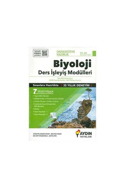 Aydın Yayıncılık Aydın Tyt Ayt Biyoloji Ders Işleyiş Modülleri