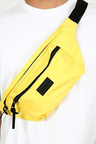 Bagslab Sarı Unisex Cepli Bel Çantası-bodybag(yan Asılarak Kullanıma Uygun)