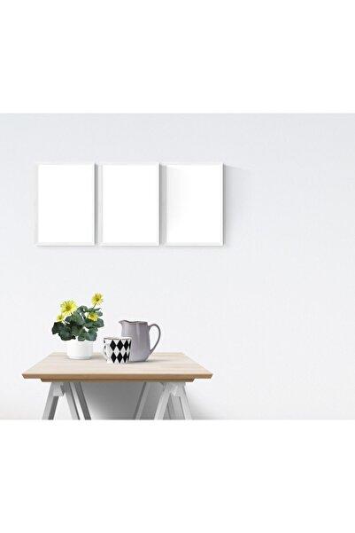 YED Frame A4 - 21x30cm Resim Çerçeve Seti - 3'lü - Beyaz -