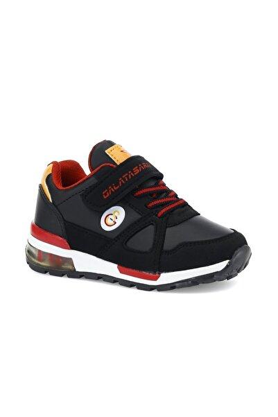 GS Rıvero Pu 1pr Siyah Erkek Çocuk Yürüyüş Ayakkabısı
