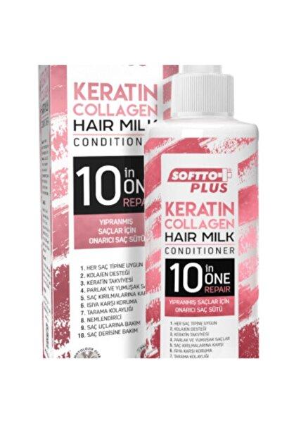 Softto Plus Saç Bakım Sütü Keratin & Collagen 250 ml