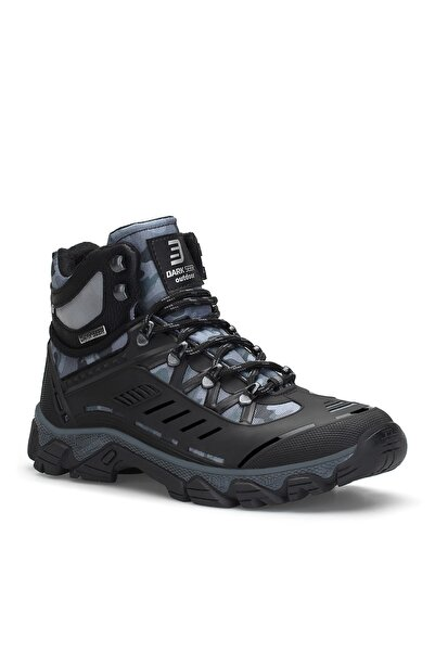 DARK SEER Siyah Kamuflaj Y. Unisex Outdoor Trekking Bot
