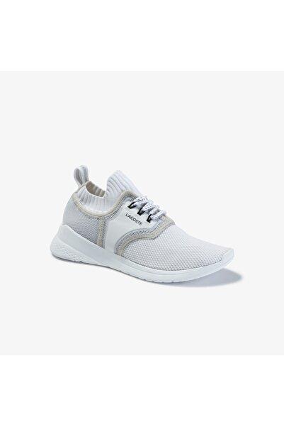 Lacoste Lt Sense 120 1 Sfa Kadın Beyaz - Açık Gri Sneaker
