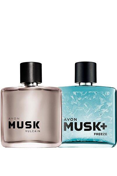 AVON Musk Vulcain Ve Musk Freeze Erkek Parfüm Paketi