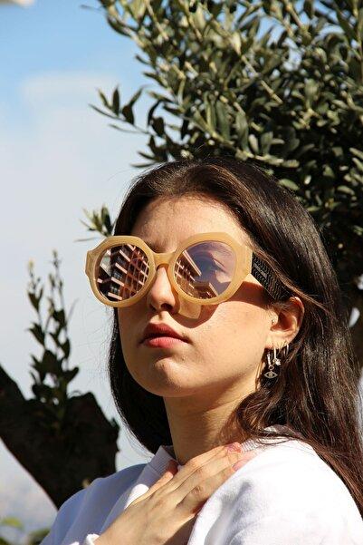 Roberto Cavalli Kadın Oval Güneş Gözlüğü RC 1100 57G