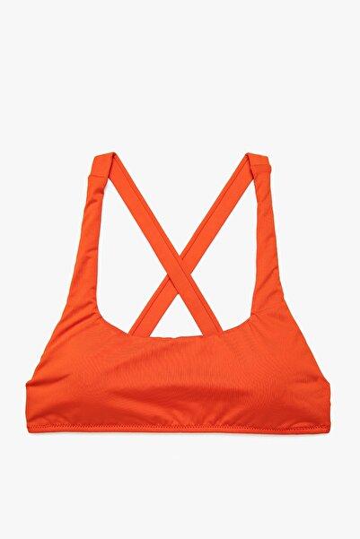Koton Kadın Kırmızı Bikini Üstü 1YAK89392BM