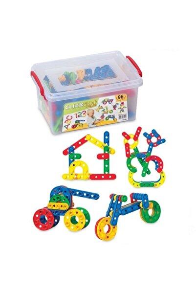 DEDE Click Clack 96 Parça Küçük Boy Puzzle