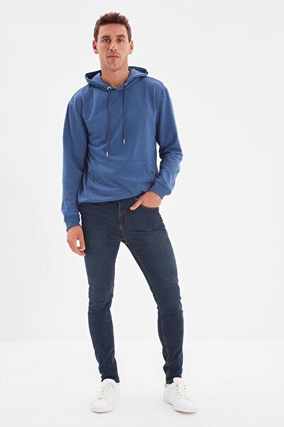 TRENDYOL MAN Indigo Erkek Tapared Skinny Jeans TMNSS21JE0212