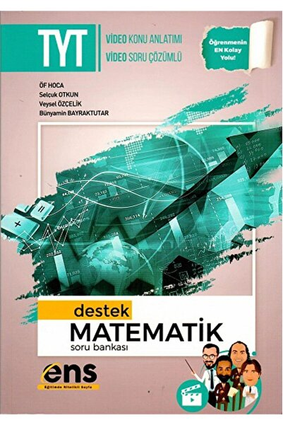 Ens Yayınları Ens Yayıncılık Tyt Matematik Destek Soru Bankası