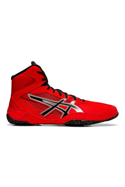 Asics Erkek Kırmızı Siyah Güreş Ayakkabısı