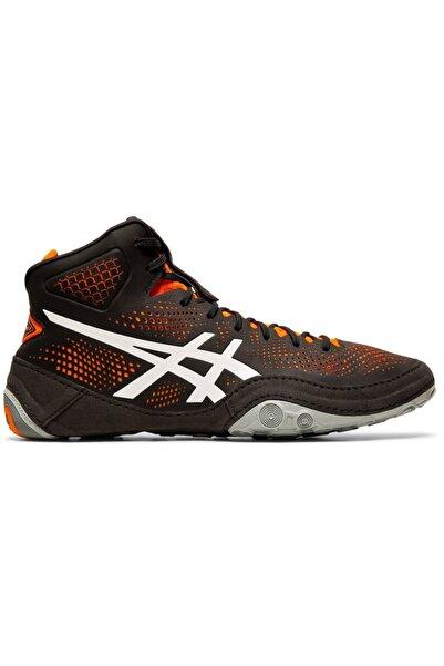 Asics Erkek Siyah Turuncu Güreş Ayakkabısı