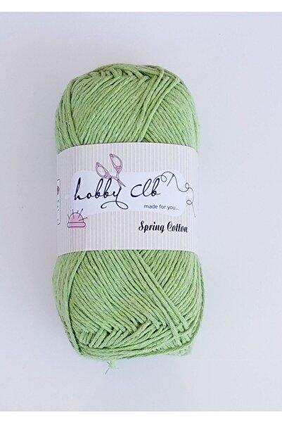 Kezban Tekstil Hobby Clb Fıstık Yeşili Amigurumi Ve Punch (panç) Ipi %100 Pamuk Natürel Koton