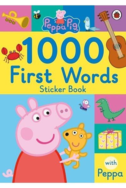 Penguin Books Peppa Pig: 1000 First Words Sticker Book
