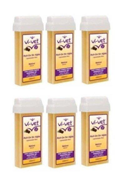 Vi-vet Naturel Kartuş Sir Ağda 100 ml 6'lı Set Ck02759-6