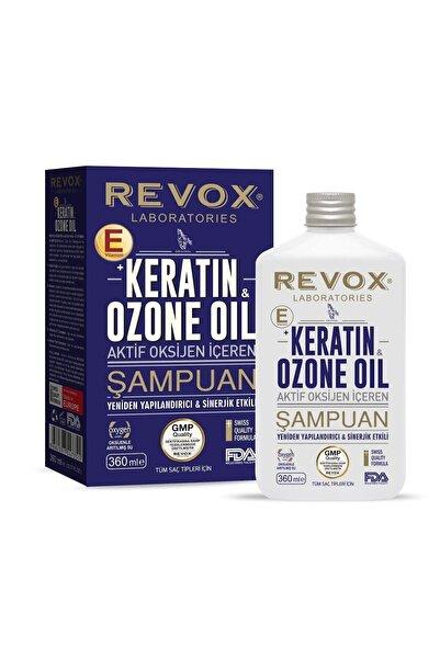 Revox Keratin & Ozon Oil Aktif Oksijen Içeren Saç Bakım Şapuanı