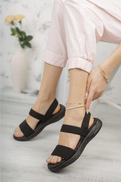 DUNLOP 1162 Ortholite Taban Kadın Sandalet Lastikli Ayakkabı