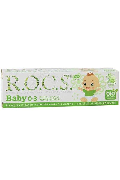 R.O.C.S. Rocs Baby 0-3 Yaş Arası Papatya Özlü Bebek Diş Macunu 35 Ml