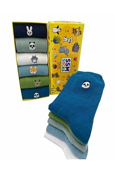 ssm socks 6'lı Soket Çorap