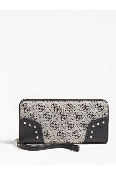 Guess Kadın / Kız Cüzdan & Kartlık Swsy81 Frankıe Slg Large Zı Small Leather Goods Black