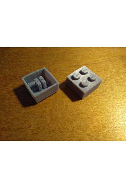 AldımGeldi Lego Şekilli Organik Plastikten Dekoratif Süs Biblo Keycap