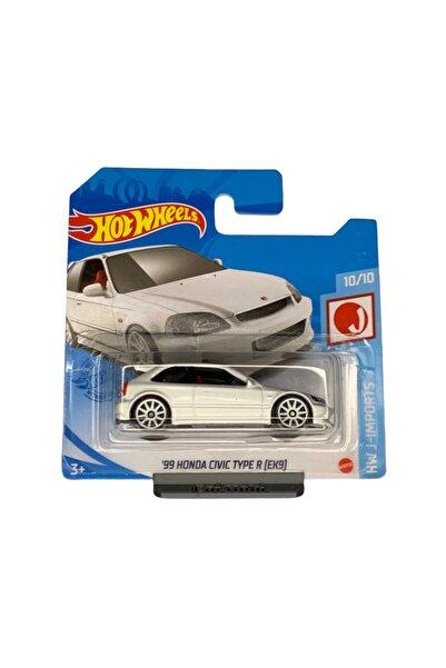HOT WHEELS - '99 Honda Civic Type R (ek9) - 1:64 Ölçek - Hw J Imports