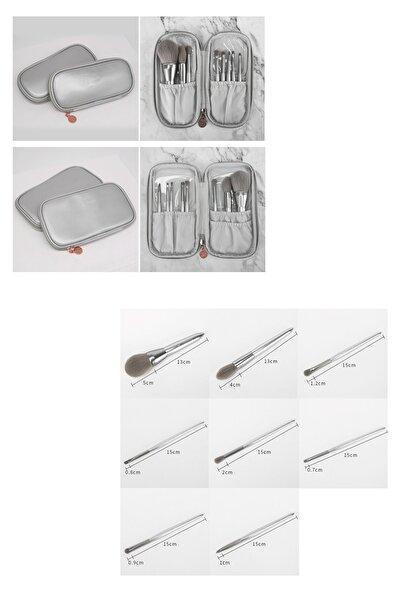 HANNAH Gümüş Makyaj Fırça Seti