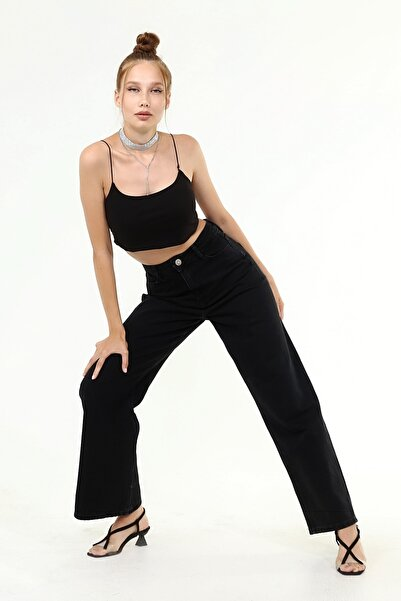 Laria Jeans Luca Denim Siyah Jeans