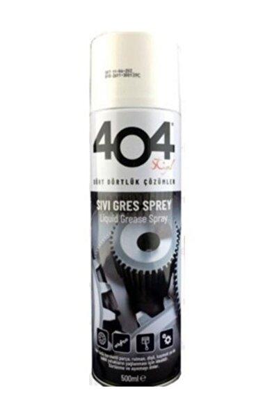404 Kimya 404 Sıvı Gres Yağı Sprey 500 ml Zincir Yağlayıcı Oto Bisiklet Motosiklet