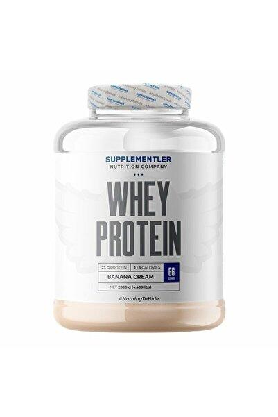 Supplementler Whey Protein 2000 gr - Muz