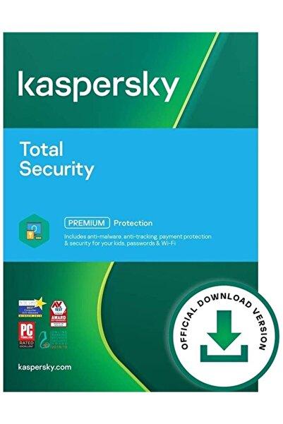 KASPERSKY Total Security ( Son Sürüm ) 5 Cihaz 1 Yıl / Hemen Teslim