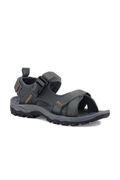 lumberjack Erkek Gri Laggun Comfort Casual Outdoor Spor Sandaleti