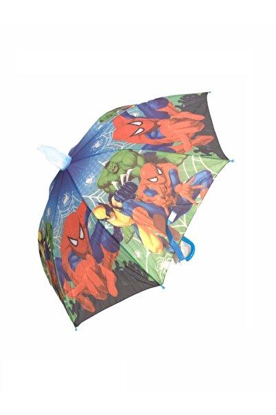 Mom & Kids Erkek Çocuk Örümcek Şemsiye