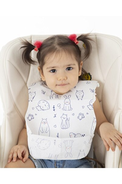 Promum Tek Kullanımlık Bebe Mama Önlüğü 10'lu Paket