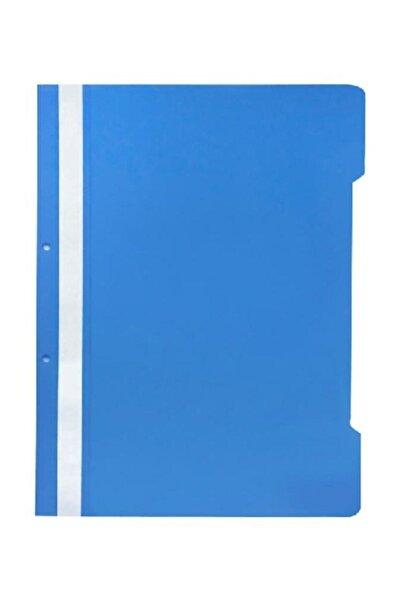 KRAF Plastik Telli Dosya Mavi 50'li Paket