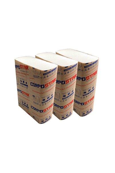 Corpostar Z Katlama Eko Havlu 150 Yapraklı 3 Paket