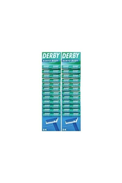 Derby Banyo Body Tıraş Bıçağı 48'li x2 Paket