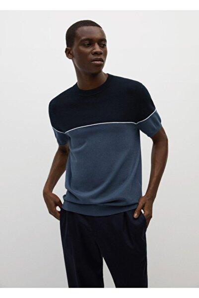 MANGO Man Modal-pamuk Karışımlı Jarse Tişört