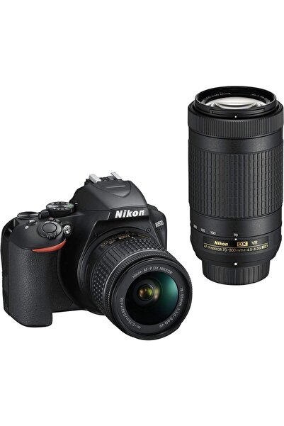 NİKON D3500 Af-p 18-55mm Vr + 70-300mm Vr Dslr Fotoğraf Makinesi