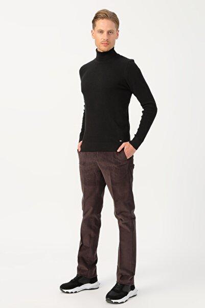 Cotton Bar Erkek Kahve Klasik Pantolon 503759680
