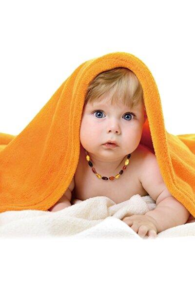 Kubbehan Bebek Kehribar Kolyesi Diş Kolyesi