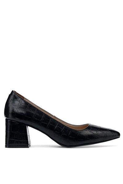 Nine West Wala 1pr Siyah Kadın Gova Ayakkabı