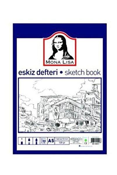 Mona Lisa Eskiz Defteri Sketch Book A5 120 gr. 50 Yp